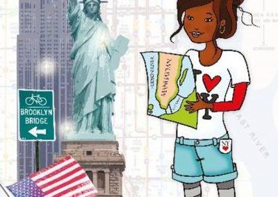 Mette loves N.Y.